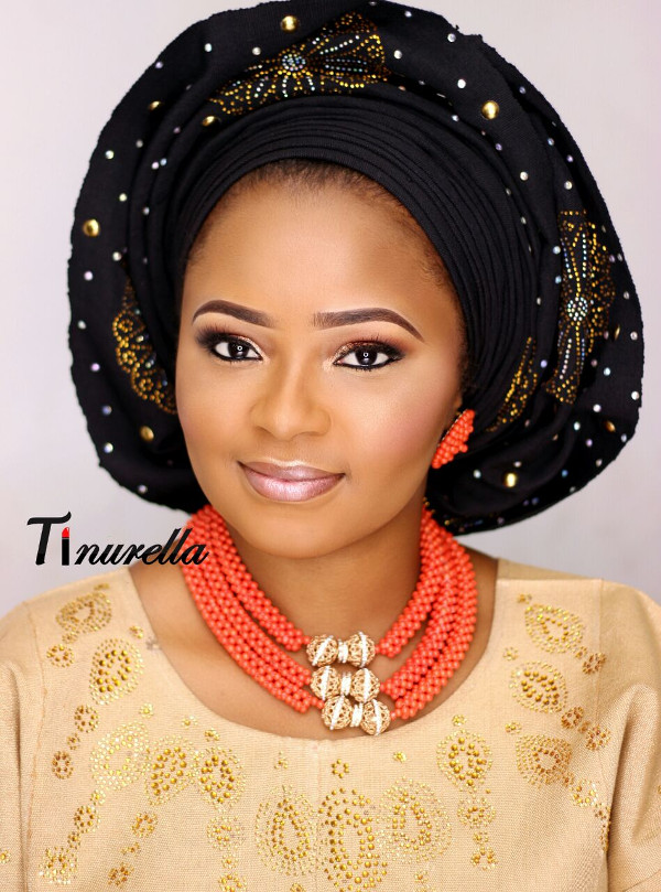 Nigerian Traditional Bridal Makeup Tinurella LoveWeddingsNG 3
