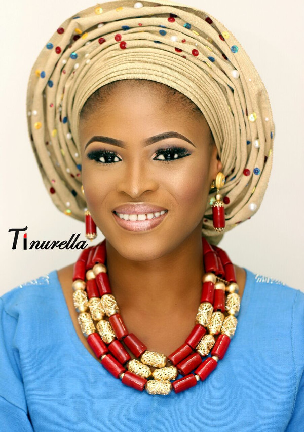 Nigerian Traditional Bridal Makeup Tinurella LoveWeddingsNG 4