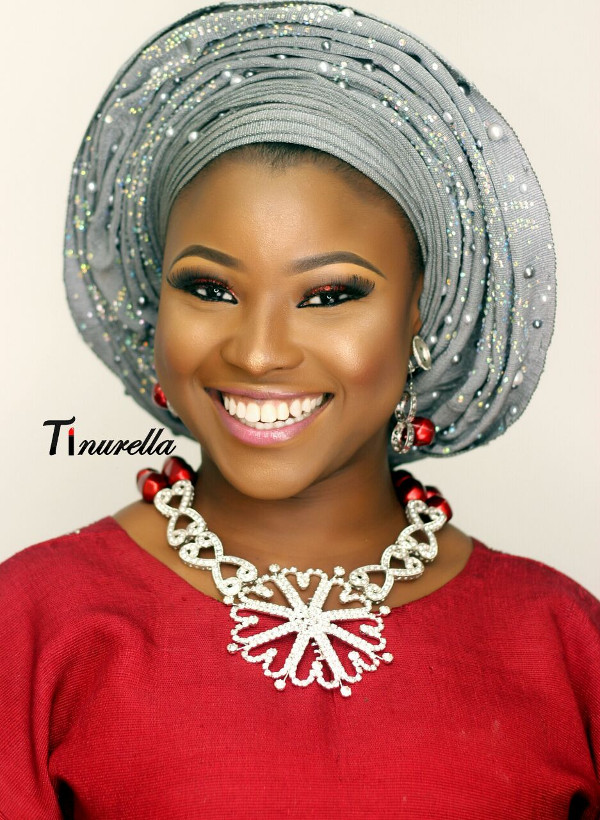 Nigerian Traditional Bridal Makeup Tinurella LoveWeddingsNG 5