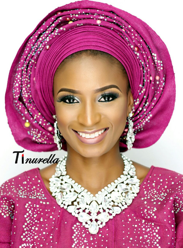 Nigerian Traditional Bridal Makeup Tinurella LoveWeddingsNG 7