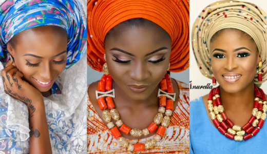 Nigerian Traditional Bridal Makeup Tinurella LoveWeddingsNG feat