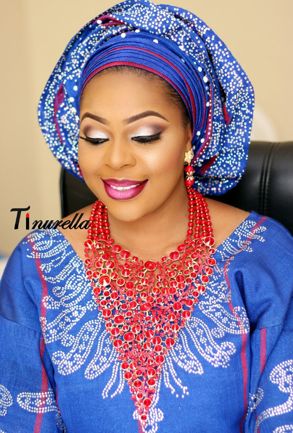 Nigerian Traditional Bridal Makeup Tinurella LoveWeddingsNG