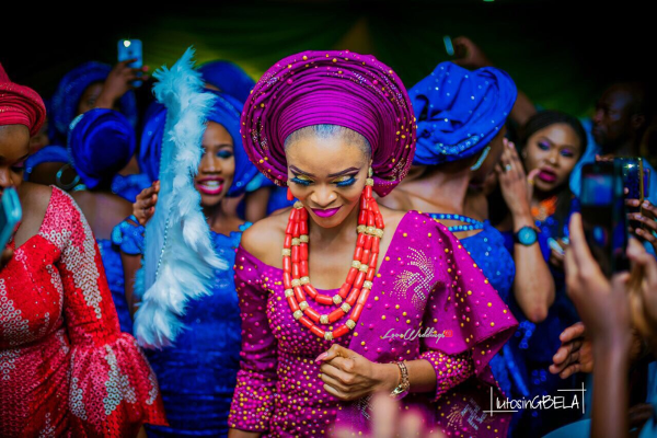 Nigerian Traditional Bride Adetola Adeleke and Olapemi Awolola LoveWeddingsNG 1