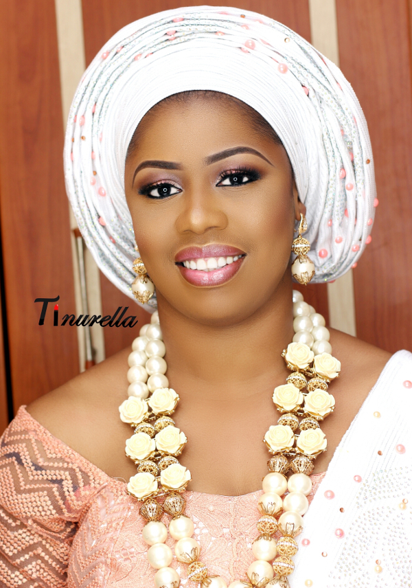 Traditional Bridal Makeup Looks : Nigerian Traditional Bride Tinurella LoveWeddingsNG