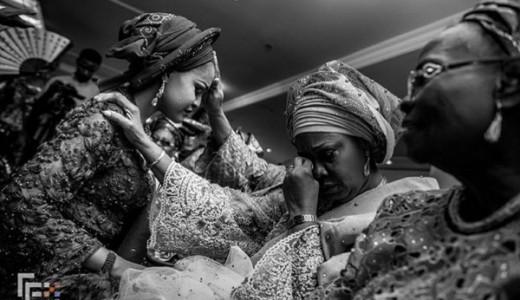 Nigerian Traditional Bride and mum FFX Weddings LoveWeddingsNG 1