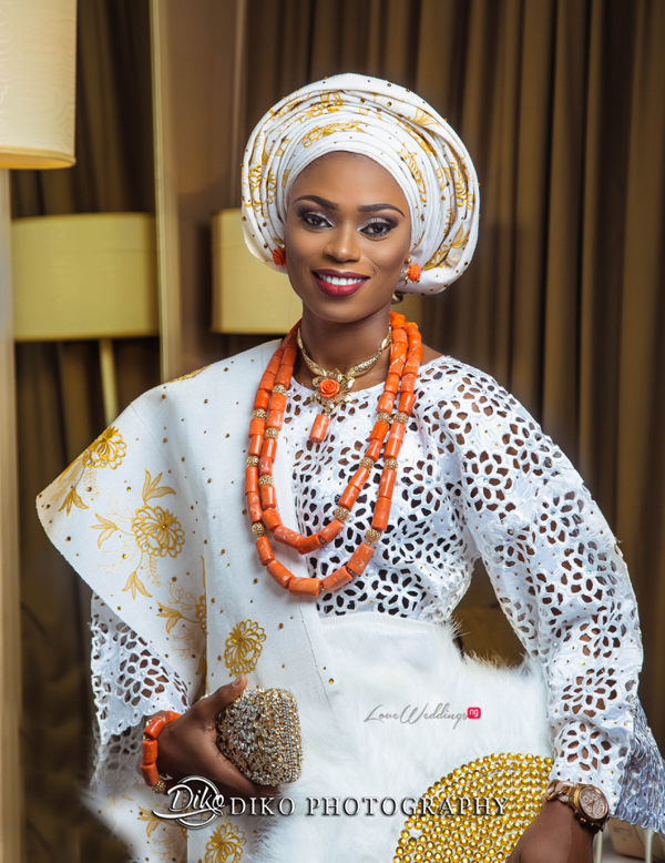 Nigerian Tradtional Bride Omolade and Adekunle Diko Photography LoveWeddingsNG 1