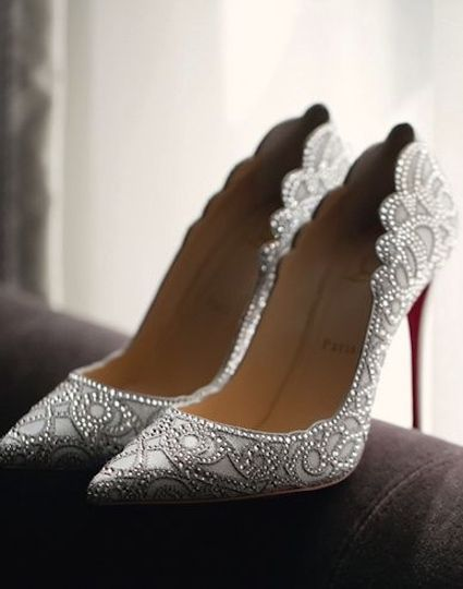 Nigerian Wedding Bridal Shoes Louboutin LoveWeddingsNG 1