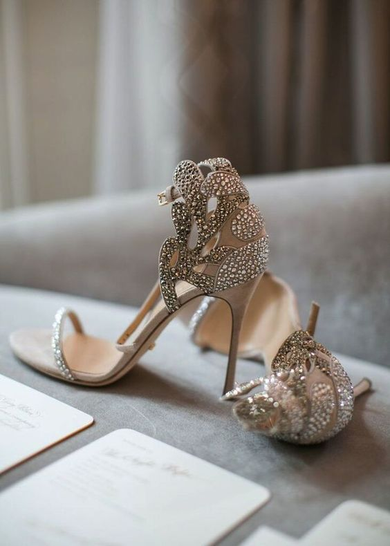 Nigerian Wedding Bridal Shoes LoveWeddingsNG 11