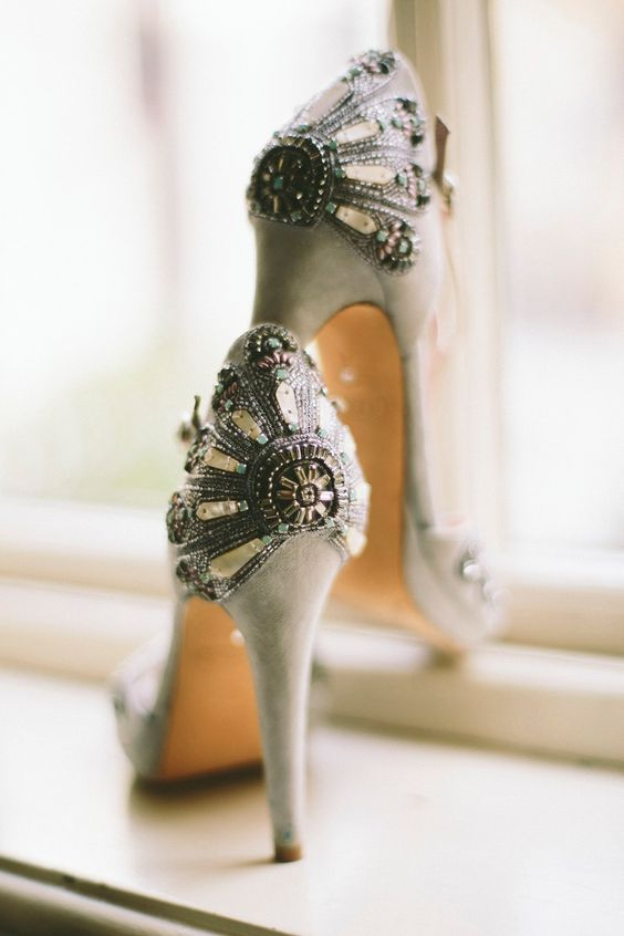 Nigerian Wedding Bridal Shoes LoveWeddingsNG 3