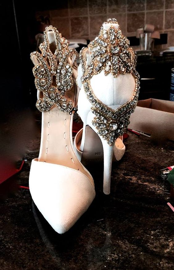 Nigerian Wedding Bridal Shoes LoveWeddingsNG 9