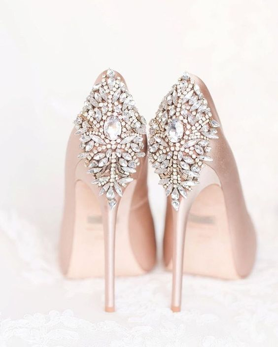 Nigerian Wedding Bridal Shoes LoveWeddingsNG
