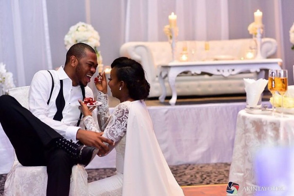 Nigerian Wedding - Feed the groom LoveWeddingsNG Akintayotimi