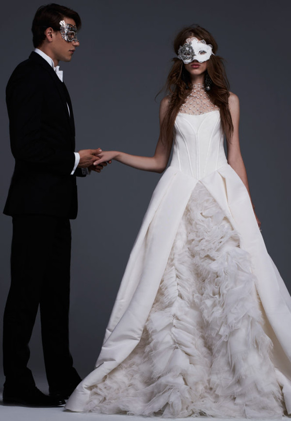 Vera Wang's Fall 2017 Bridal Collection - Young Love LoveWeddingsNG 9