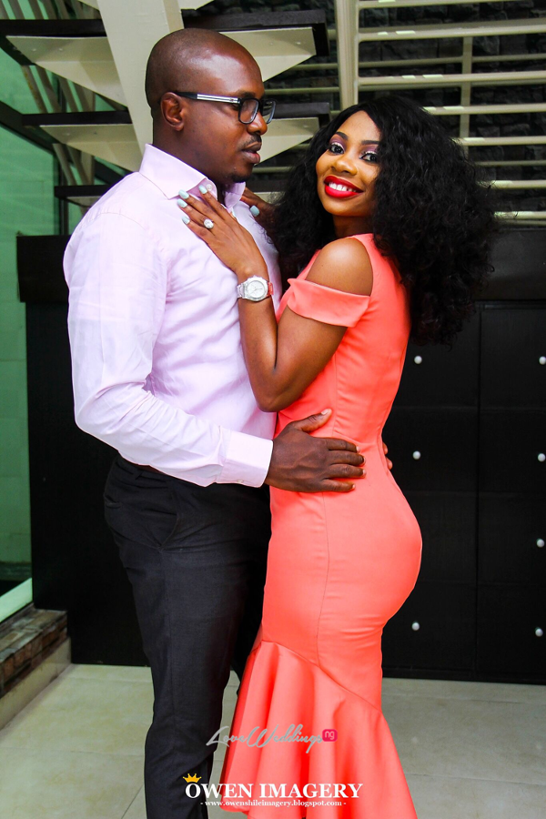 Celestine Ovia and Nancy Charles Nigerian PreWedding LoveWeddingsNG 4