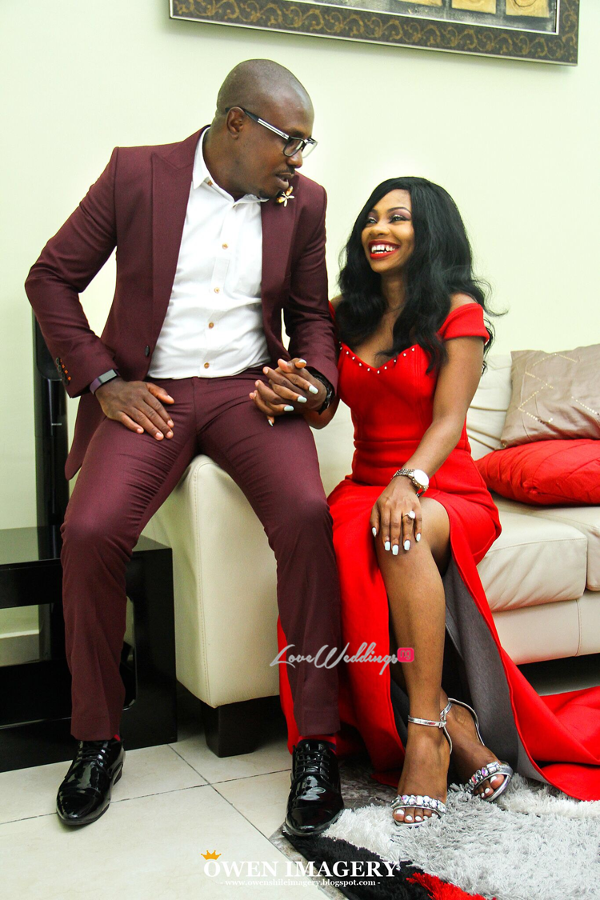 Celestine Ovia and Nancy Charles Nigerian PreWedding LoveWeddingsNG 5
