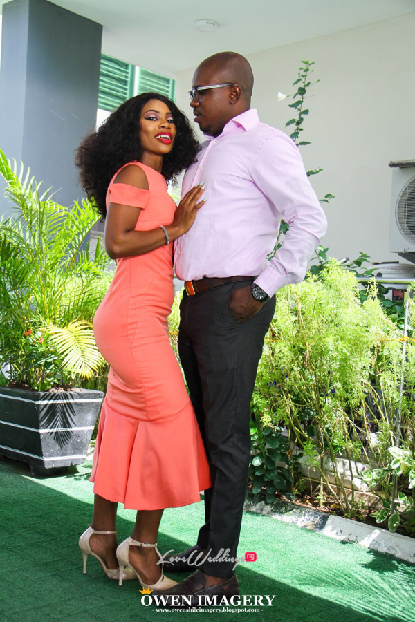 Celestine Ovia and Nancy Charles Nigerian PreWedding LoveWeddingsNG 9