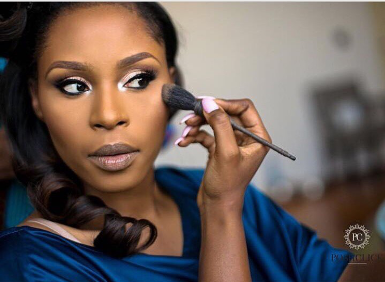 Labisi Folawiyo DIY Bridal Makeup #LexyLabs17 LoveWeddingsNG