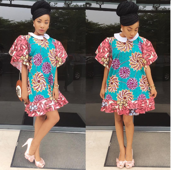 Mo Cheddah in Mo Cheddah.co Modupe collectio Nigerian Wedding Guest Inspiration LoveWeddingsNG
