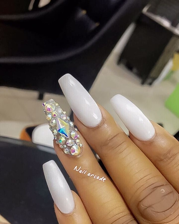 Nigerian Bridal Nail Inspiration LoveWeddingsNG 20