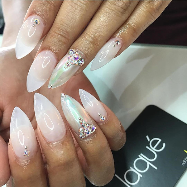 Nigerian Bridal Nail Inspiration LoveWeddingsNG17