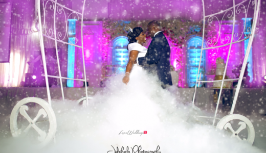 Nigerian Bride and Groom First Dance #ifuekola17 Jide Kola LoveWeddingsNG