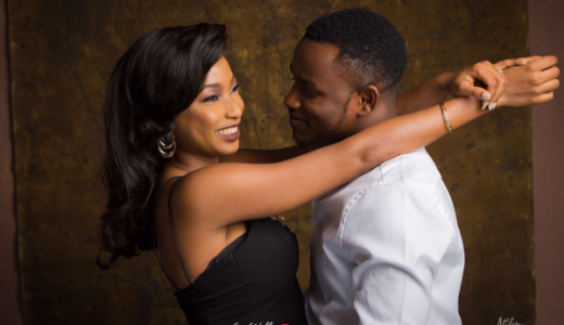 Nigerian Engagement Shoot #TKTheWedding LoveWeddingsNG 1