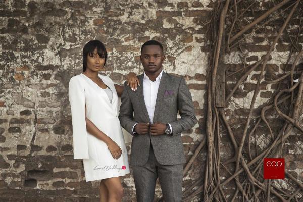 Nigerian Engagement Shoot #TKTheWedding LoveWeddingsNG 2