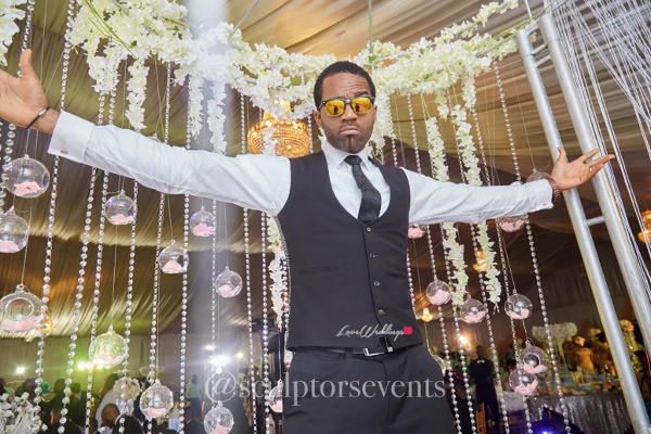 Nigerian Groom Seno and Patrick Turn Up Sculptors Events LoveWeddingsNG