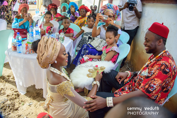 Nigerian Traditional Bride and Groom Dr. Chioma & Dr. Onyedika Lemmy Vedutti Photography LoveWeddingsNG 2