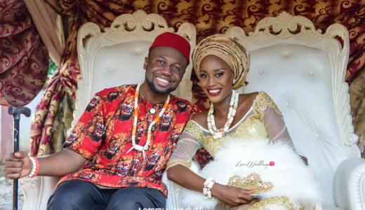 Nigerian Traditional Bride and Groom Dr. Chioma & Dr. Onyedika Lemmy Vedutti Photography LoveWeddingsNG 3