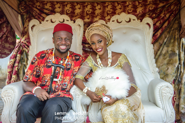 Nigerian Traditional Bride and Groom dancing Dr. Chioma & Dr. Onyedika Lemmy Vedutti Photography LoveWeddingsNG 2