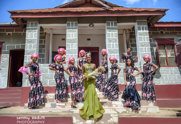 Nigerian Traditional Brides and Aso Ebi Ladies Lemmy Vedutti Photography LoveWeddingsNG