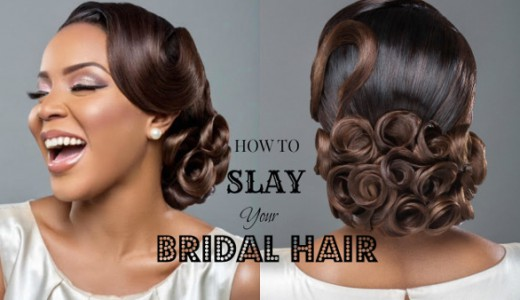 Slay Your Bridal Hair Get Wedding Ready with Wura Manola LoveWeddingsNG