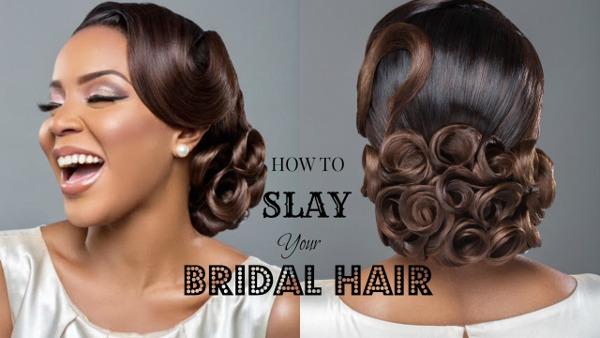 Slay Your Bridal Hair Get Wedding Ready with Wura Manola LoveWeddingsNG