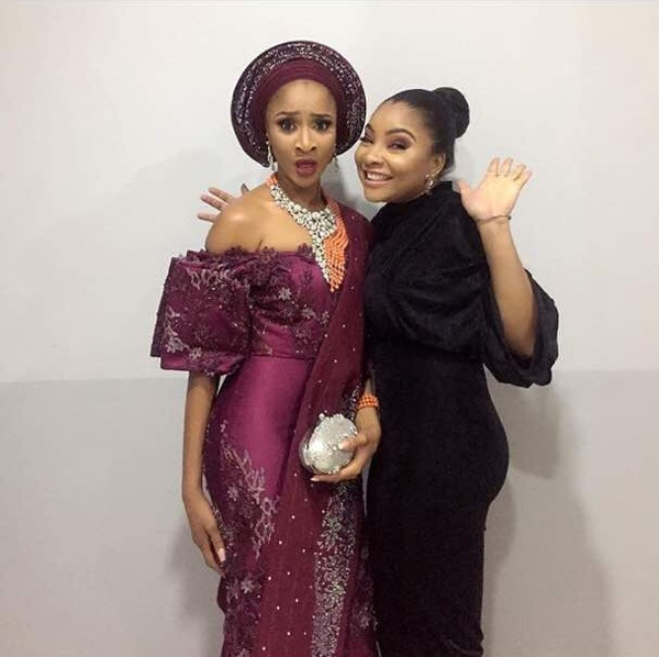 Adesua Etomi Banky W Introduction - Adesua and Linda Ejiofor LoveWeddingsNG