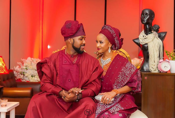 Adesua Etomi Banky W Introduction #BAAD2017 - Couple LoveWeddingsNG 1