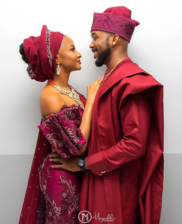 Adesua Etomi Banky W Introduction #BAAD2017 - Couple LoveWeddingsNG
