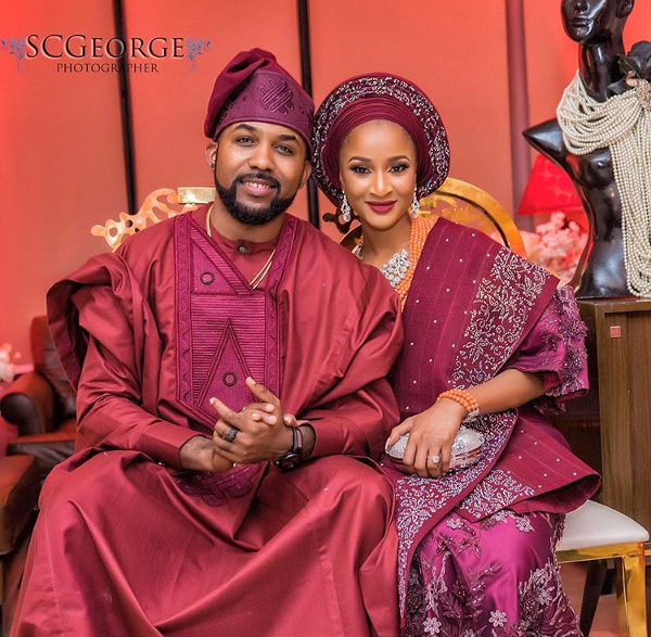 Adesua Etomi Banky W Introduction #BAAD2017 LoveWeddingsNG 2