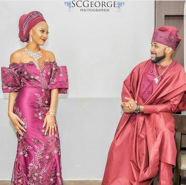 Adesua Etomi Banky W Introduction #BAAD2017 LoveWeddingsNG 6