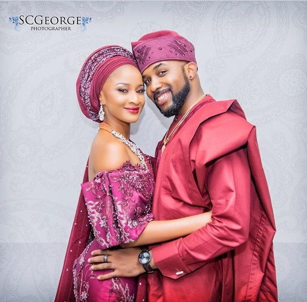 Adesua Etomi Banky W Introduction #BAAD2017 LoveWeddingsNG