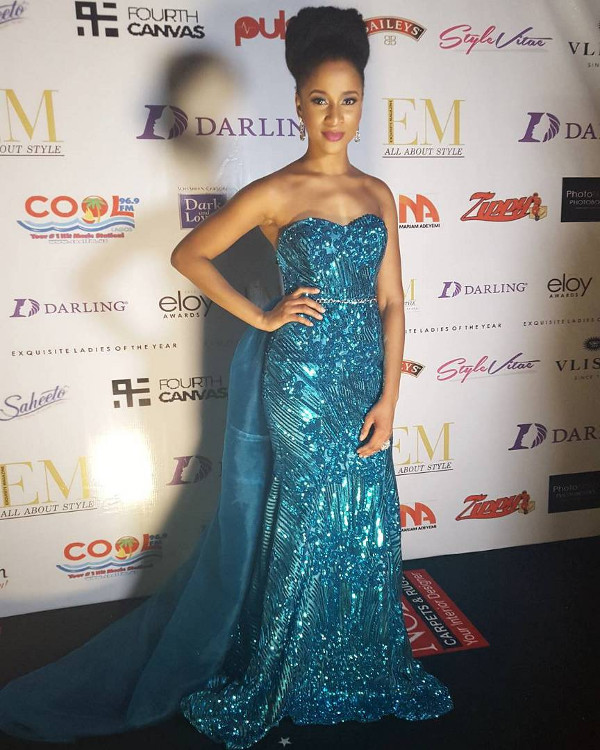 Adesua Etomi Nigerian Wedding Guest Style Bridesmaids Second Dress Inspiration LoveWeddingsNG