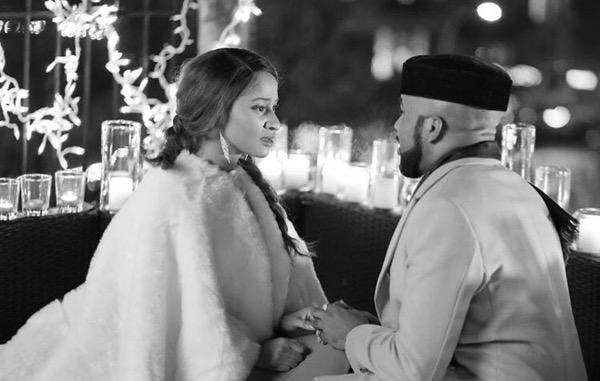 Adesua Etomi and Banky W Engagement Story Memes LoveWeddingsNG