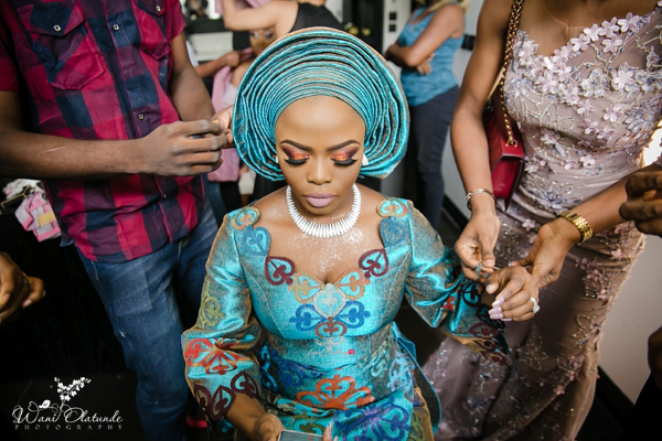 Nigerian Traditional Bride Prep Wani Olatunde Photography LoveWeddingsNG