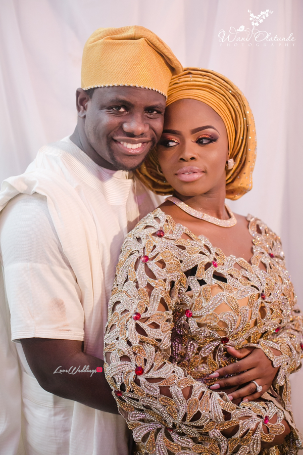 Nigerian Traditional Bride and Groom Wani Olatunde Photography LoveWeddingsNG