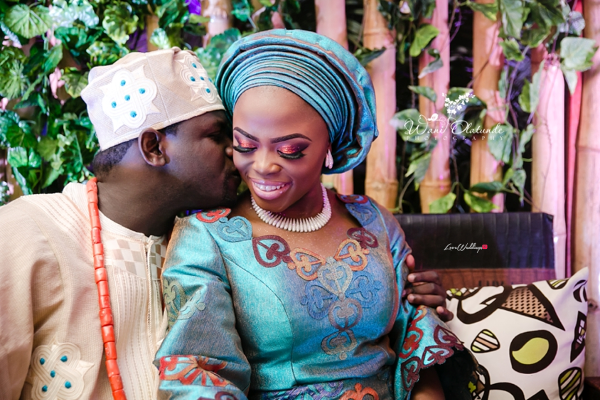 Nigerian Traditional Couple Portrait Wani Olatunde Photography LoveWeddingsNG
