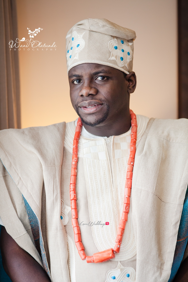 Nigerian Traditional Groom Wani Olatunde Photography LoveWeddingsNG