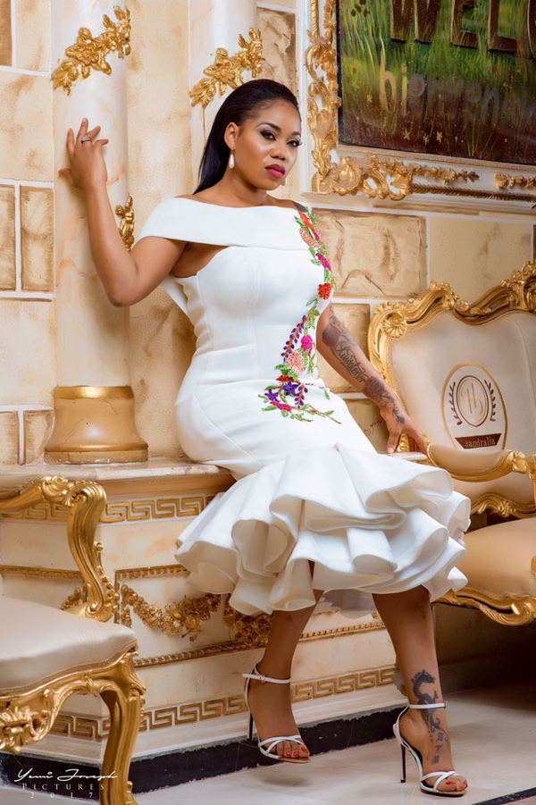 Toyin Lawani's Elegante by Tiannah Styling presents The Transformer Collection LoveWeddingsNG 1