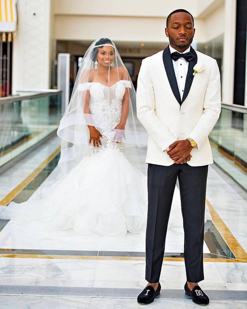Banke adeniran wedding