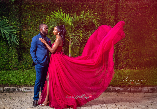 Akin & Toyin's Stunning PreWedding Shoot | #ATtheUnion19