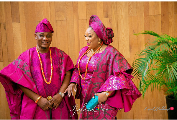 Adeola & Abiola's #AAUnion19 traditional wedding was oh so pink!